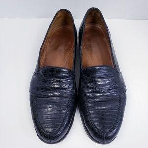 Magnanni 8863 Raul Genuine Lizard Loafers 11 M